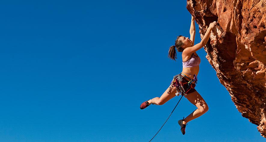 mountain climber perfect aries job