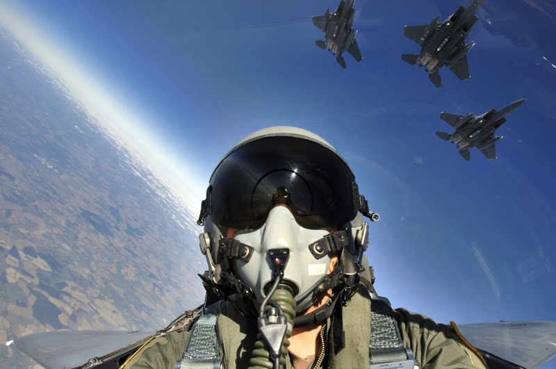 fighter jet pilot perfect aries job